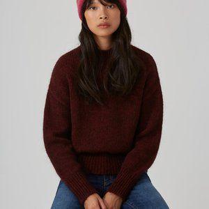 NEVER WORN Frank & Oak Mohair Mock neck Sweater